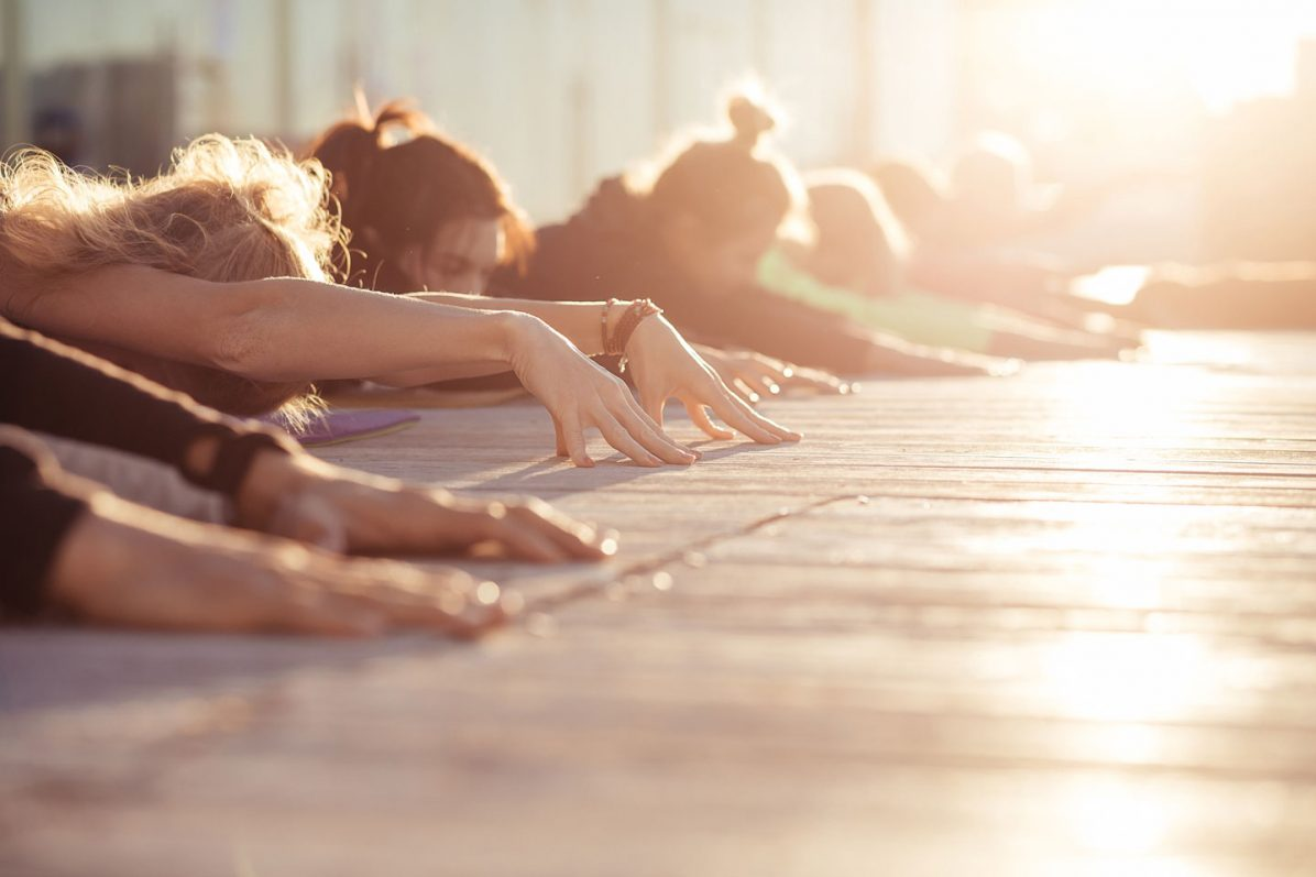 Studio Yoga Class